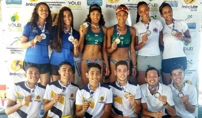 Mateus/Diego (BNB) e Thainara/Karol (Aero Clube) levam o título em Fortaleza