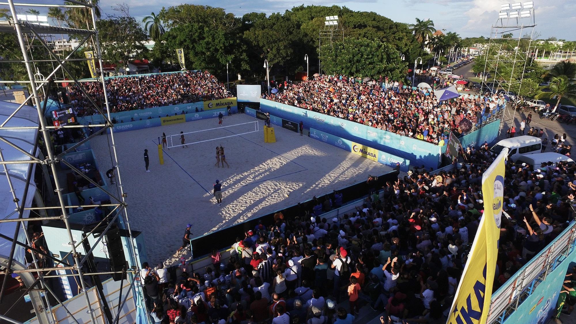 México recebe última etapa de 2019 com sete duplas brasileiras buscando pódio