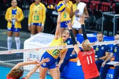 Na estreia de Natália, Brasil é superado pela Alemanha