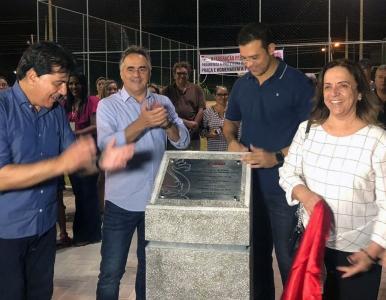 Praça é inaugurada em João Pessoa com homenagem a Potengi Lucena