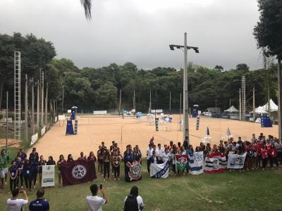 Primeiro dia de competição tem 32 jogos em Serra (ES)
