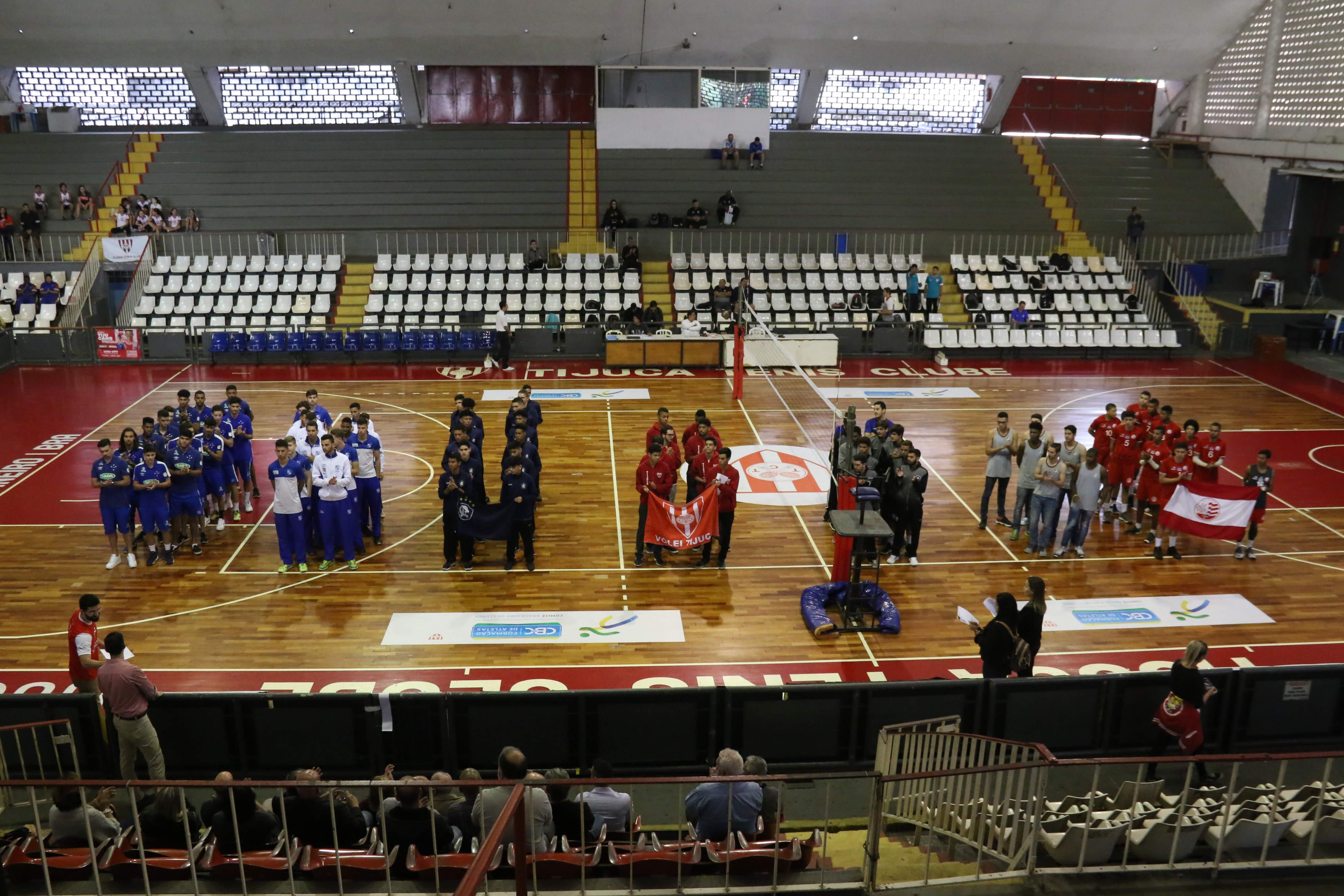 Quartas de final são definidas com Flamengo e Minas Tênis Clube invictos