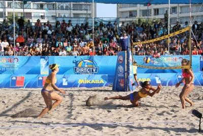 Quatro duplas brasileiras buscam medalhas na etapa do Chile