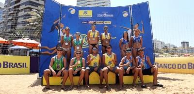 Renato/Rafael (PB) e Aninha/Victoria (MS) conquistam mais uma etapa