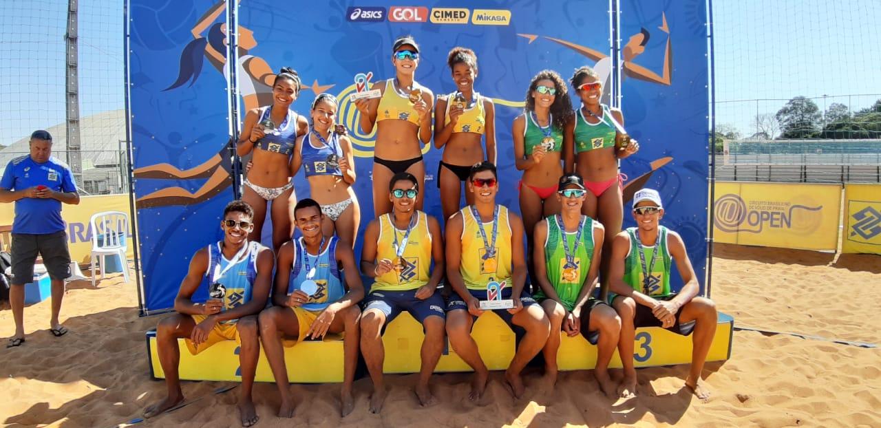 Renato/Rafael (PB) e Aninha/Victoria (MS) ficam com o título em Maringá