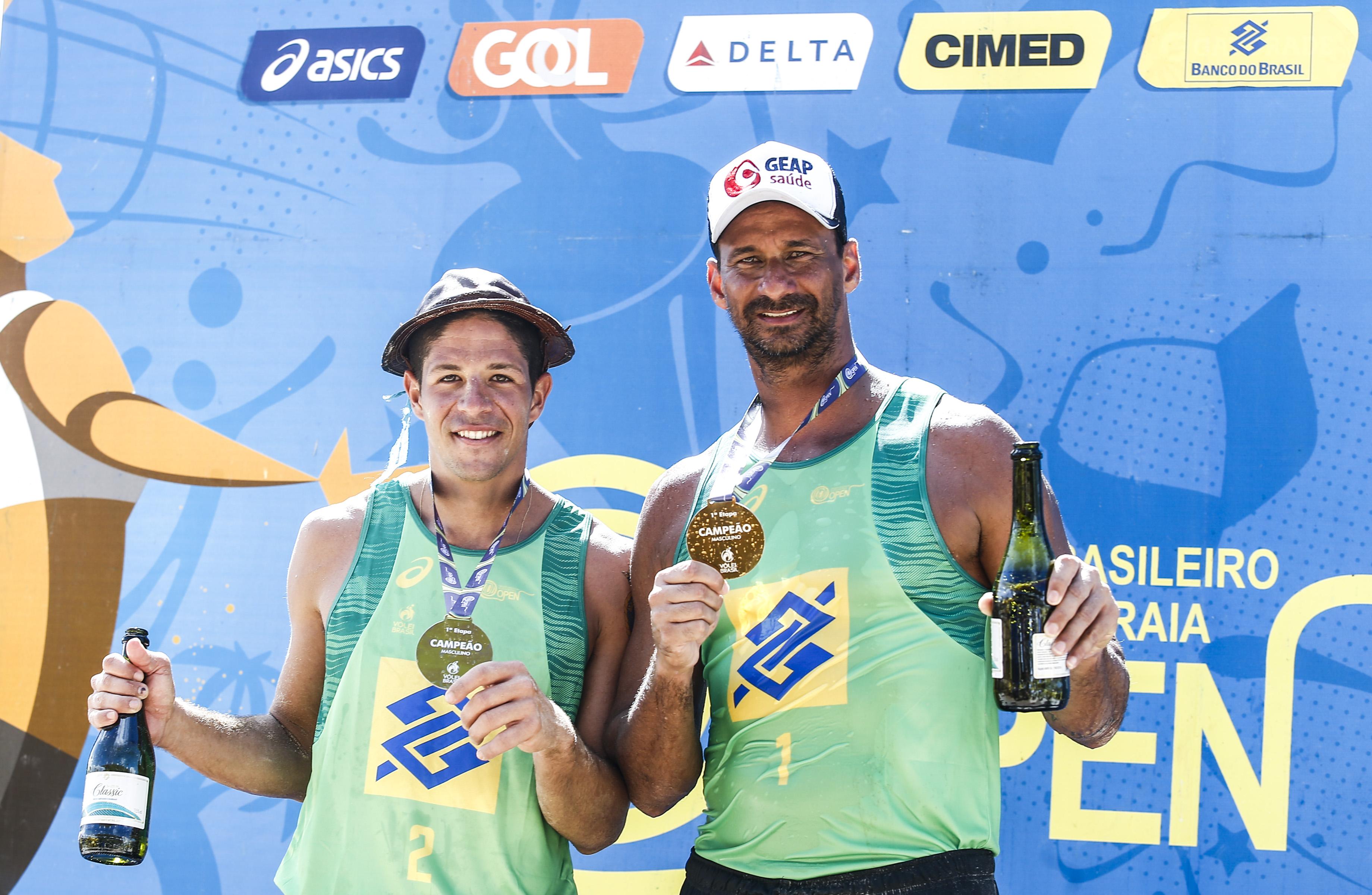 Ricardo leva ouro ao lado de Álvaro Filho em São Luís (MA) e quebra recorde