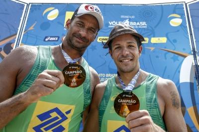 Ricardo/Álvaro Filho leva o ouro em Natal e fica perto do título da temporada