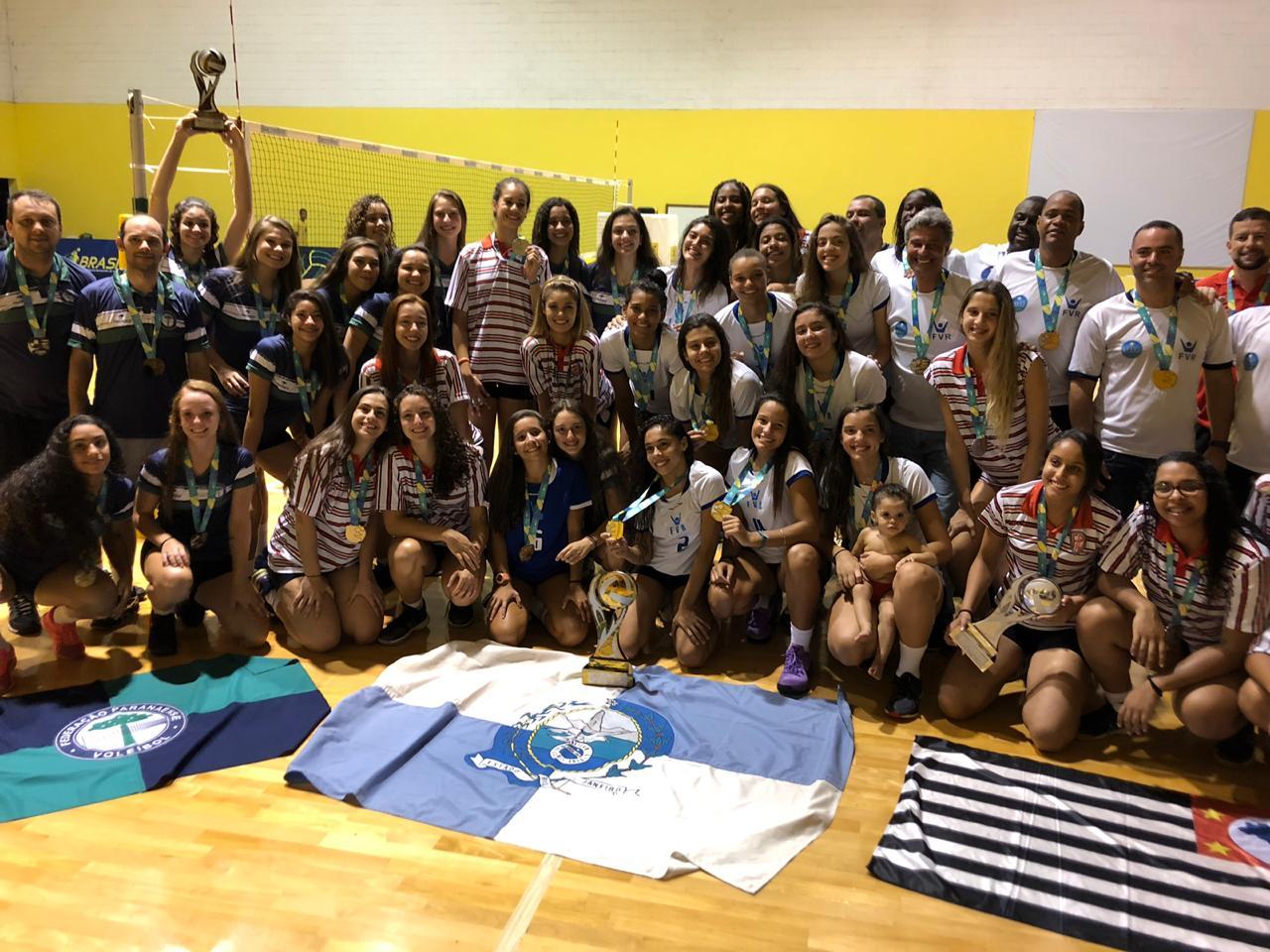 Rio de Janeiro é campeão em Saquarema