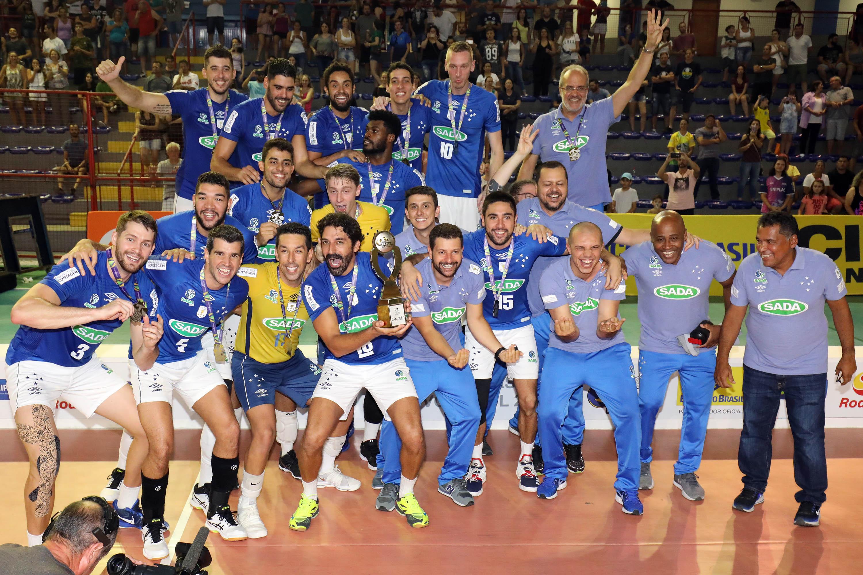 Sada Cruzeiro é campeão em Lages (SC)