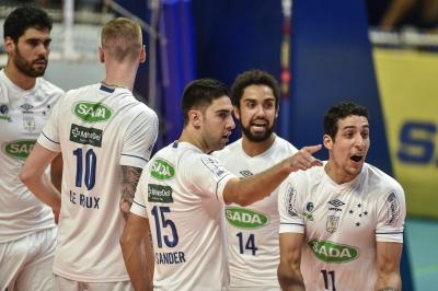 Sada Cruzeiro e Copel Telecom Maringá encerram primeira rodada das quartas de final