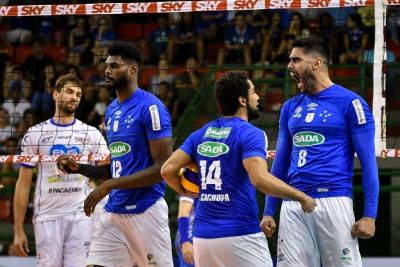 Sada Cruzeiro e Fiat/Minas vencem em jogos pela nona rodada