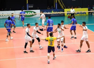 Sada Cruzeiro vence o EMS Taubaté Funvic por 3 a 0