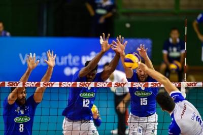 Sada Cruzeiro vence o Fiat/Minas no clássico mineiro