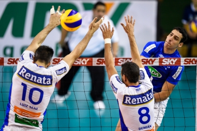 Sada Cruzeiro vence o Vôlei Renata de virada e reassume a liderança