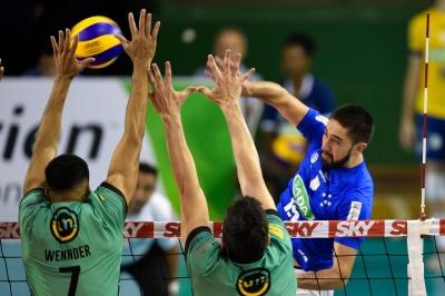 Sada Cruzeiro vira o jogo diante do Vôlei UM Itapetininga