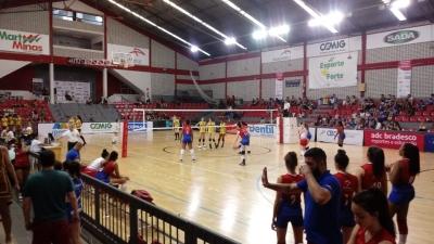 Sada Vôlei (MG) e Minas Tênis Clube (MG) avançam à final do torneio