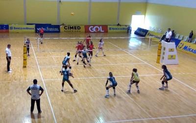 Santa Catarina lidera com cinco vitórias em cinco jogos