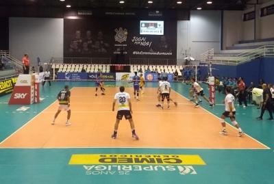 São Francisco Saúde/Vôlei Ribeirão vira o jogo e vence o Corinthians-Guarulhos