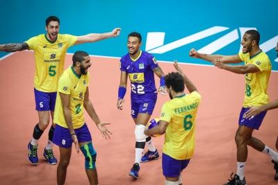 Seleção brasileira de vôlei desembarca em Cuiabá na próxima semana