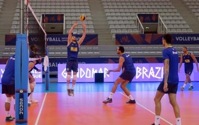 Seleção brasileira estreia na terceira etapa diante da Sérvia