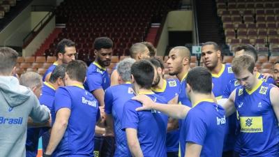 Seleção masculina chega a Katowice e Leal se integra ao grupo