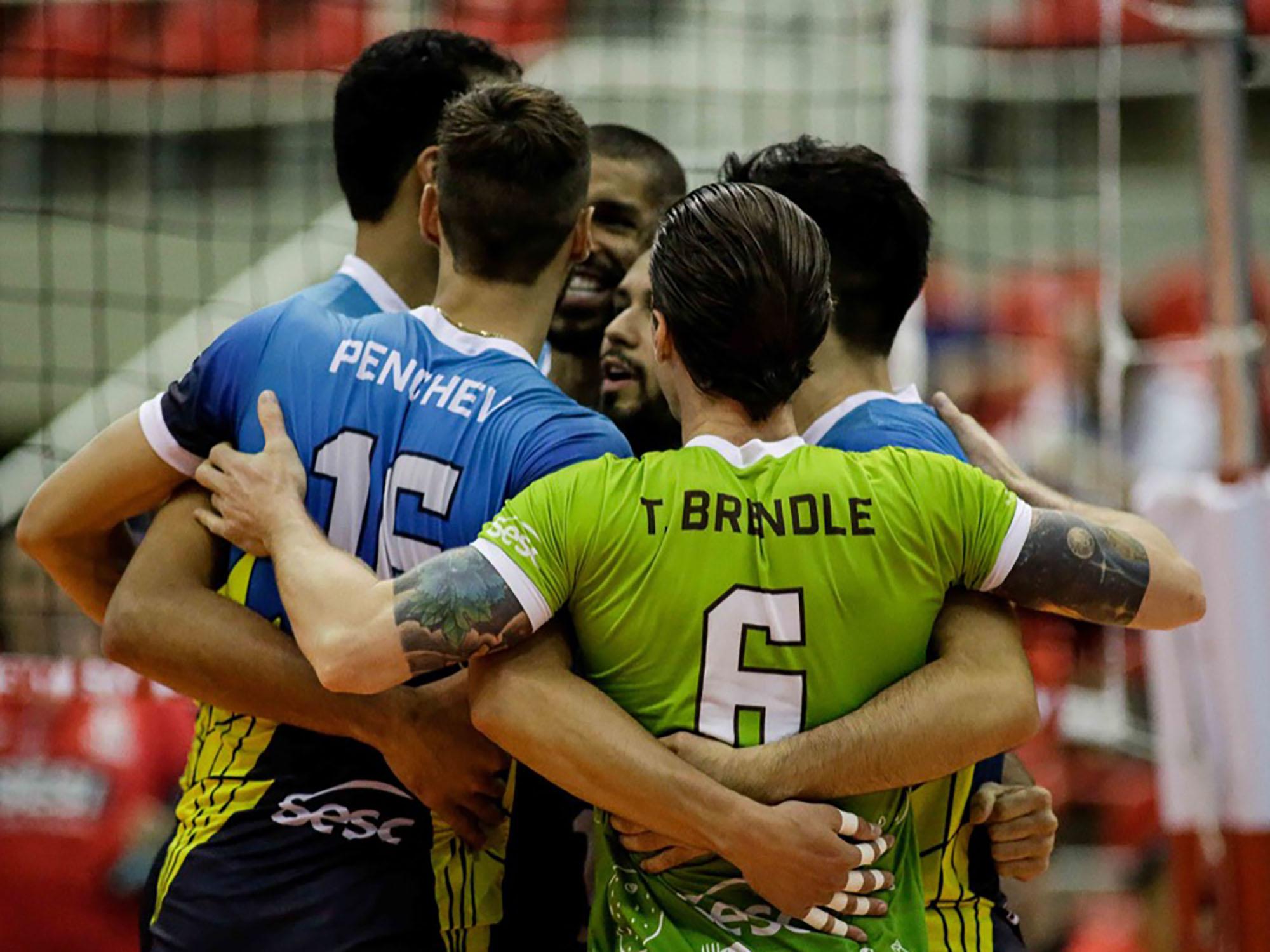 Sesc RJ e Fiat/Minas disputam a última vaga na semifinal