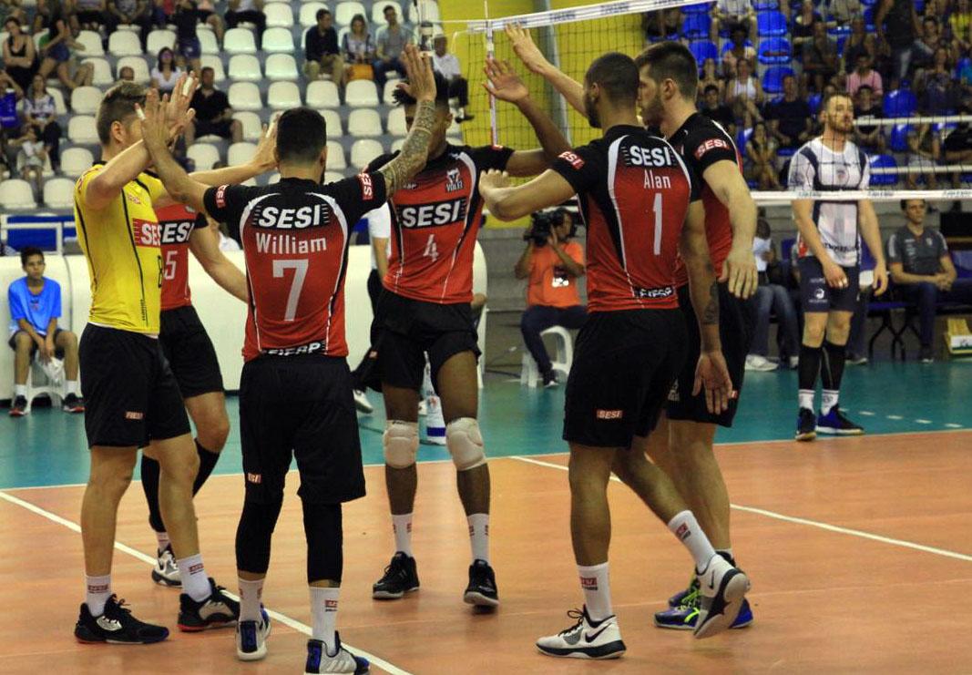 Sesi-SP vence a Apan Blumenau no último jogo do ano