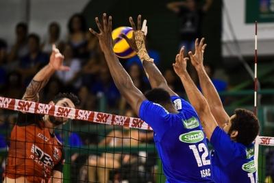 Sesi-SP vence o Sada Cruzeiro e encerra fase na primeira posição