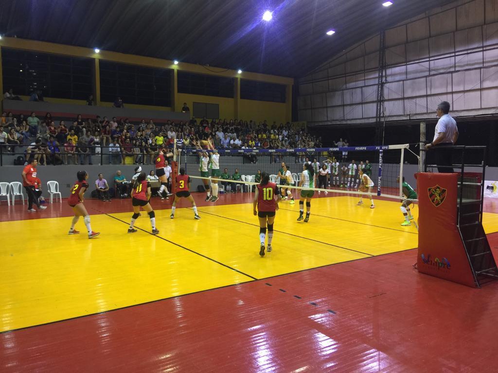 Sport vence Sada Vôlei na segunda rodada