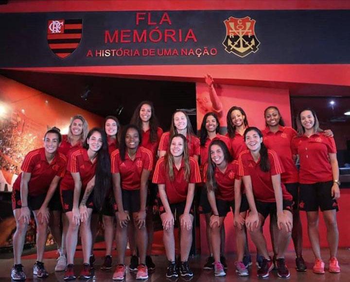 Superliga B feminina conta com a força e expressão do Flamengo