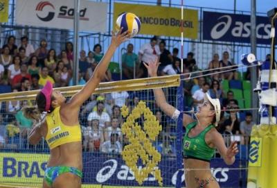 Taiana/Talita e Ângela/Carol Horta decidem o título em Ribeirão