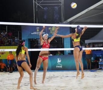 Talita e Taiana vão em busca da medalha de bronze na etapa do México