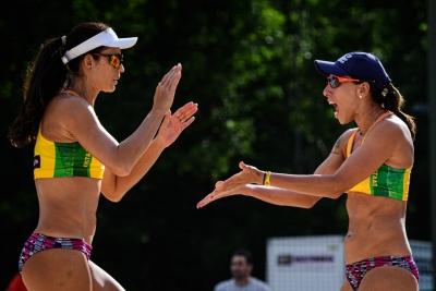 Talita/Taiana avança em Espinho; Brasil também disputa etapa no Canadá