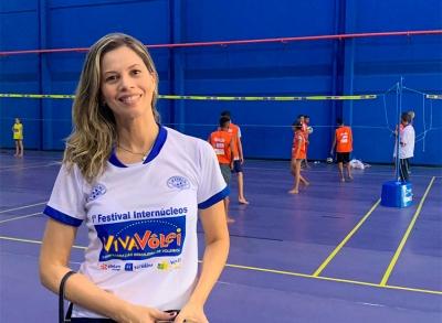 Teresina  recebe inauguração de cinco núcleos com campeã olímpica Fofão