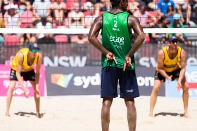 Thiago e George terminam em nono lugar na etapa de Sydney