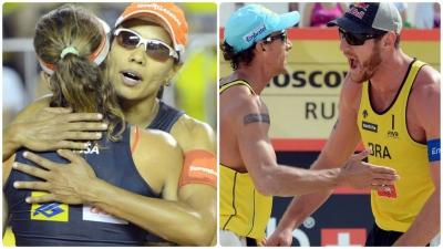 Últimos campeões em Cuiabá, Alison e Juliana relembram pódio e superação