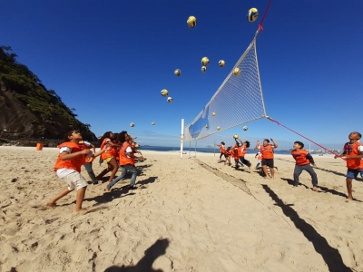 União entre voleibol e meio ambiente promoverá limpeza na Praia do Leme