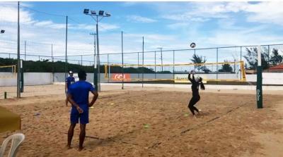 Ágatha/Duda inicia treinos no Centro de Desenvolvimento de Voleibol