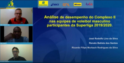 Academia do Voleibol apresenta dois artigos científicos na noite desta segunda-feira