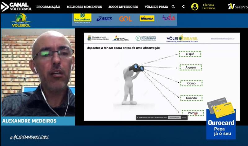 Academia do Voleibol debate análise do jogo aplicada ao vôlei de praia