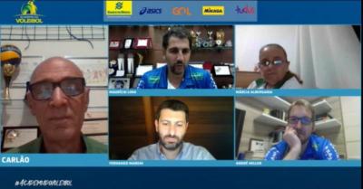Academia do Voleibol encerra temporada 2020 com apresentação sobre o projeto Vôlei Campinas