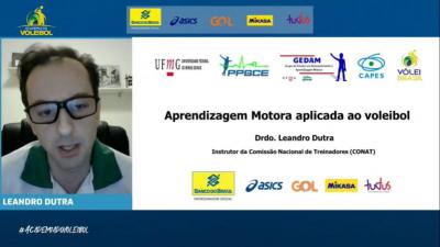 Academia do Voleibol traz discussão sobre Aprendizagem Motora aplicada ao voleibol nesta segunda