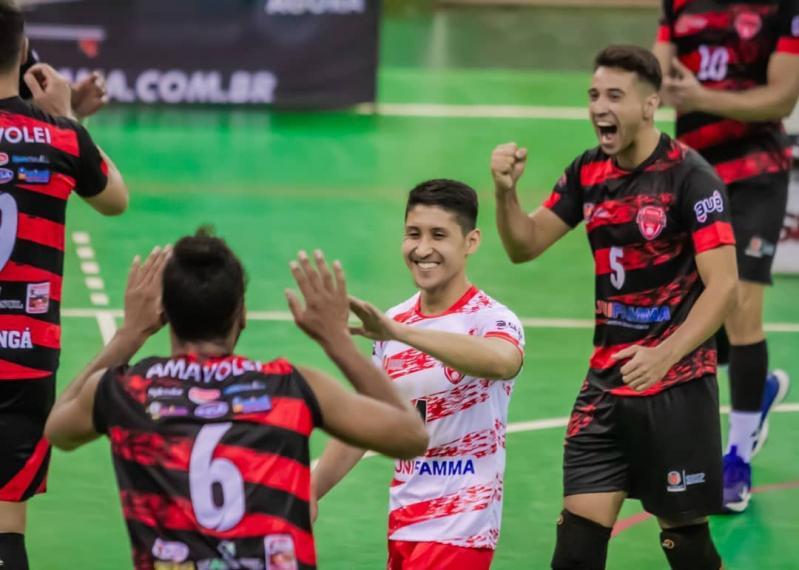 AMAVÔLEI Maringá a uma vitória do título no Grupo 1 da Superliga C