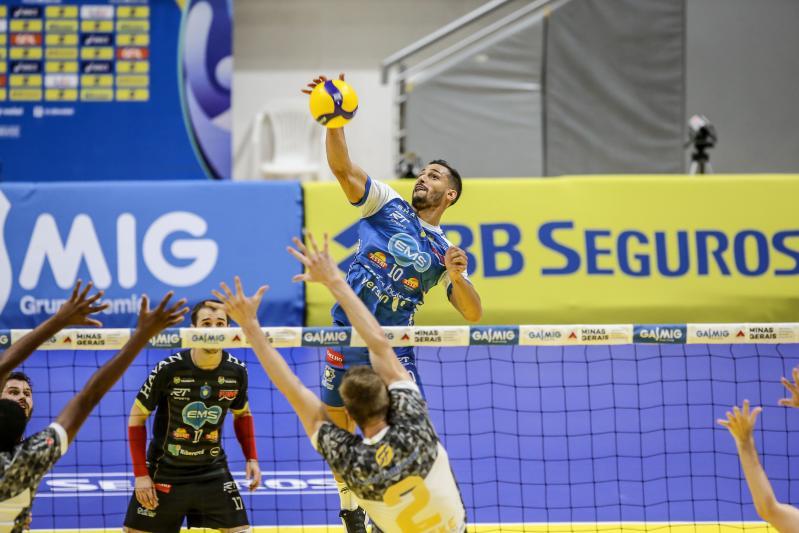 Apan/Eleva/Blumenau e EMS Taubaté Funvic estão nas semifinais