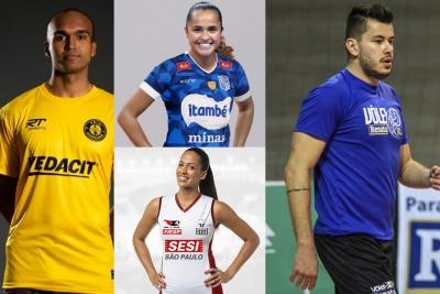 Atletas locais reforçam elenco de times tradicionais e estreantes