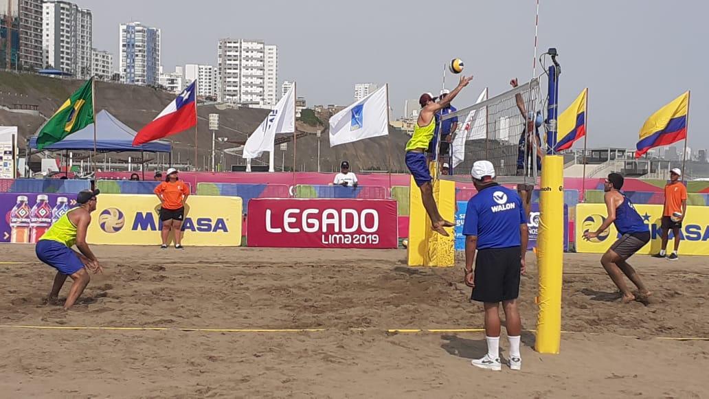 Brasil avança com quatro duplas às semifinais masculina e feminina em Lima