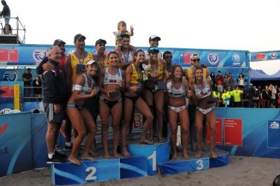 Brasil conquista ouro, prata e bronze na etapa de Coquimbo, no Chile