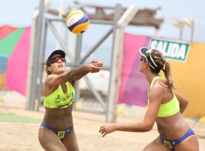Brasil larga com três duplas garantidas nas quartas de final em Lima