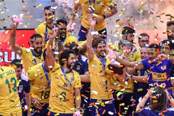 Brasil segue entre os três do mundo no ranking mundial