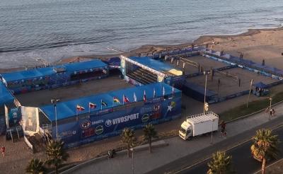 Brasil terá quatro duplas em etapa chilena que abre a temporada 2020